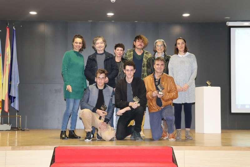 Premiados del concurso de cortos. / EPDA
