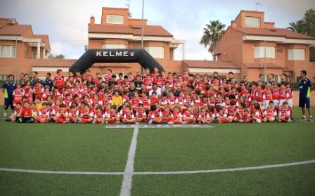El Club Deportivo Caxton College de Puçol. FOTO: CAXTON COLLEGE
