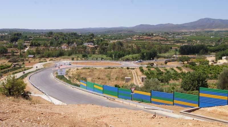 Variante norte de Pedralba. EPDA