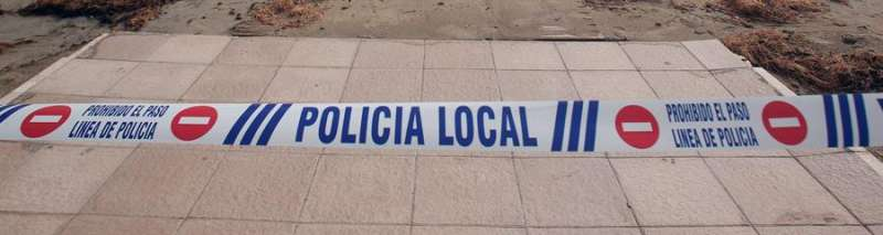 Policía Local. EFE/ Morell