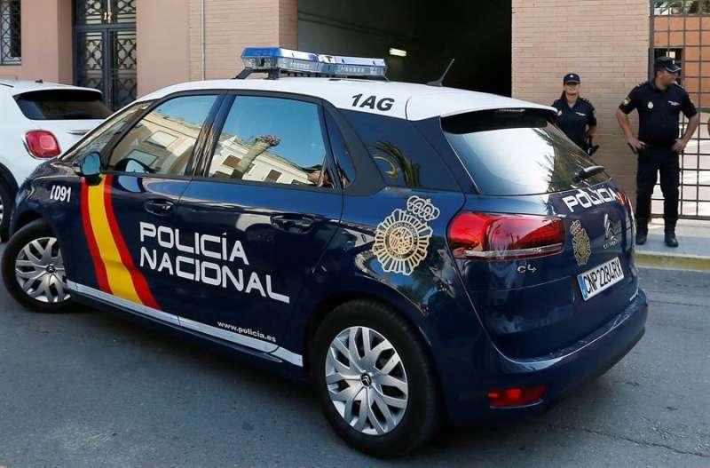 Foto de archivo de una patrulla de la Policía Nacional.