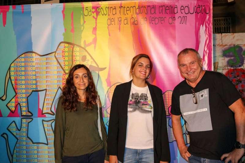 Isaura Navarro, Sandra Gómez i Josep Arbiol.