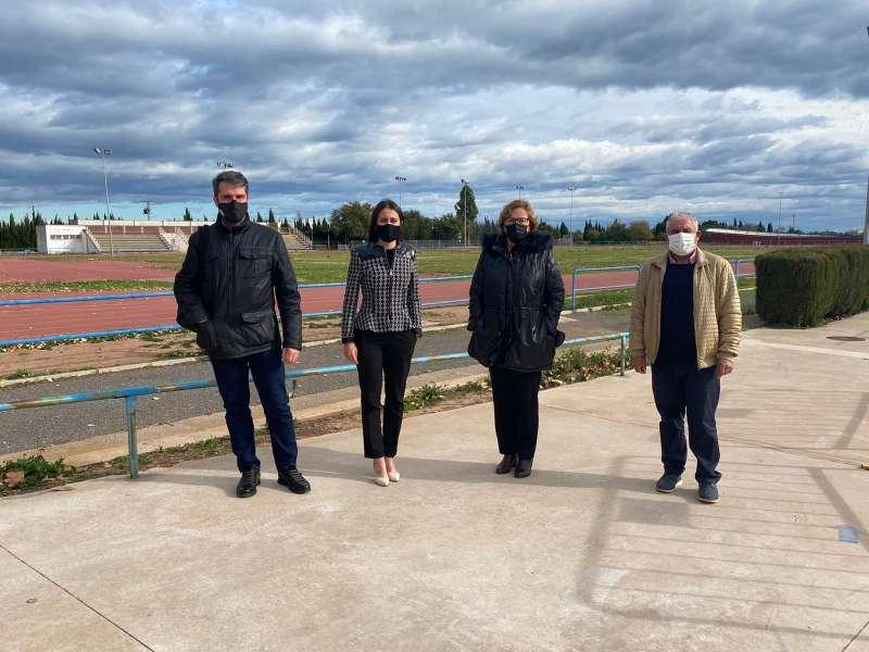 Visita de la Diputada Provincial de Deportes / EPDA
