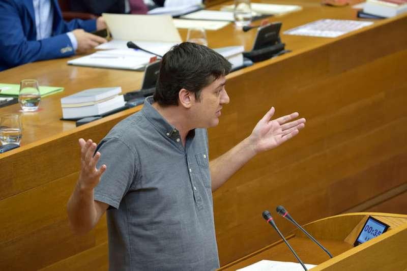 El diputat i portaveu de Compromís a la Comissió d?Educació i Cultura a les Corts, Josep Nadal