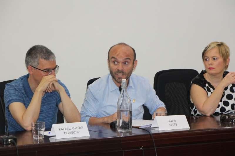 El portaveu de Compromís a Meliana, Joan Orts. EPDA