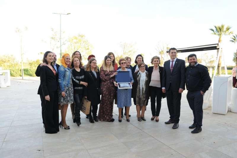 Mujeres reconocidas en la gala Alfafar en Igualtat 2020. EPDA
