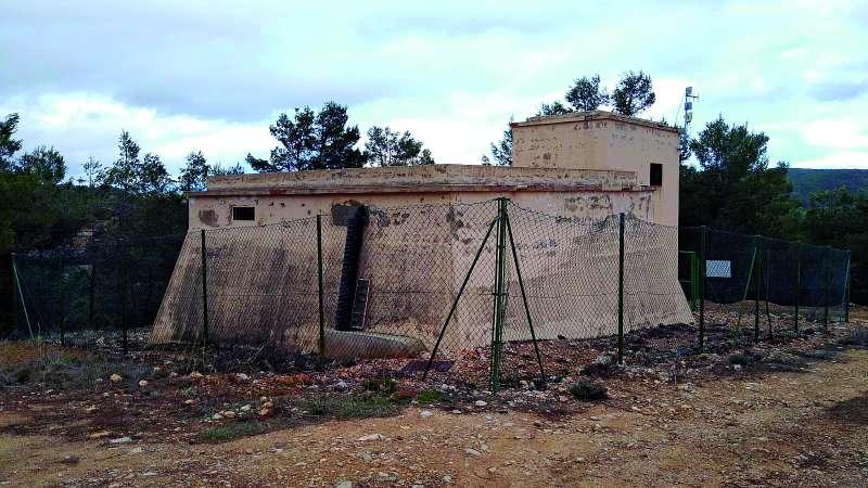 Depósito de agua de Benagéber. / EPDA