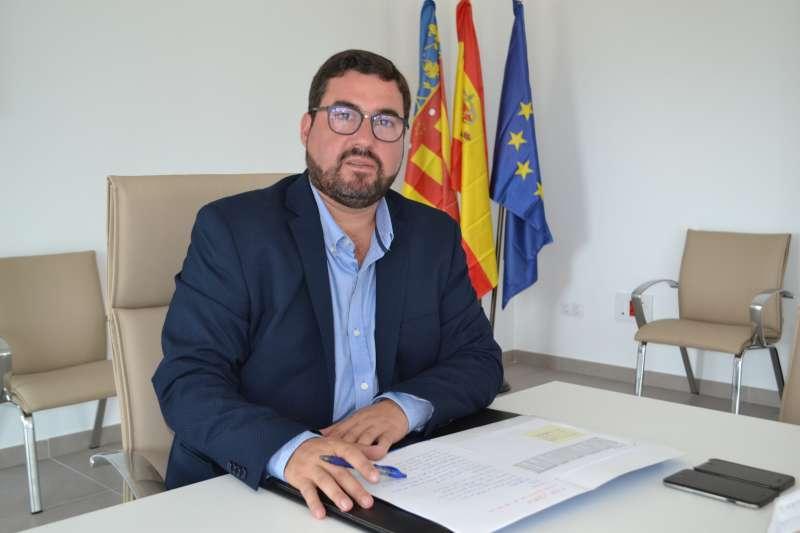 Leandro Benito, portavoz del Partido Popular en el Ayuntamiento de Canet d