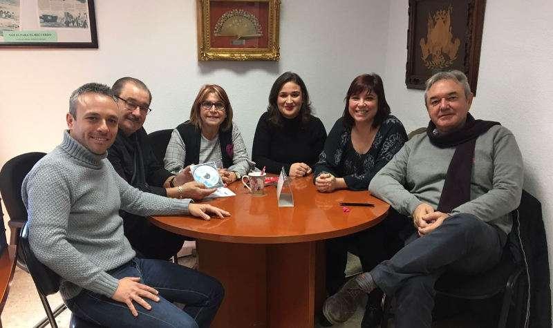 Reunión de la diputada con la Mancomunitat del Barrio del Cristo. EPDA