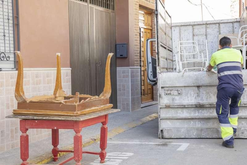 Recogida de muebles y trastos viejos