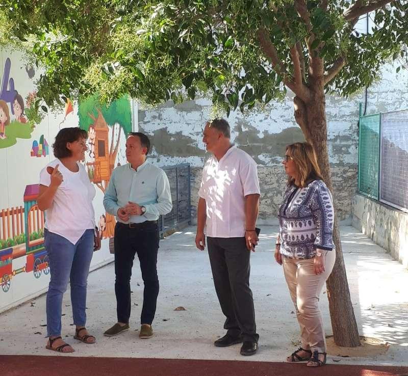 Visita al CEIP San Miquel