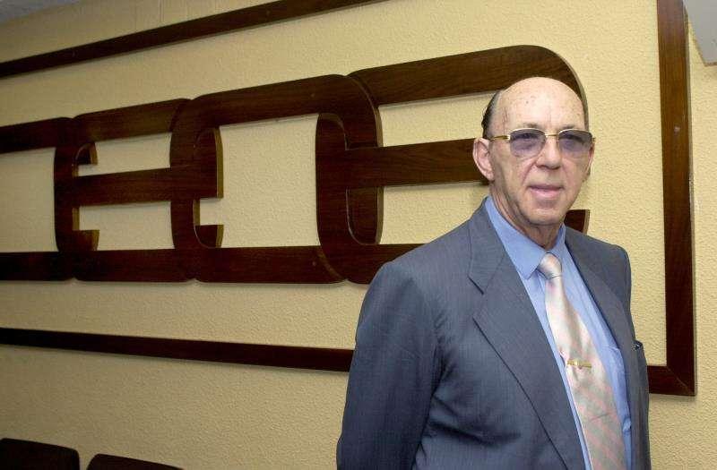 El empresario valenciano José Lladró en un homenaje que le hizo la patronal CEOE. EFE/Archivo