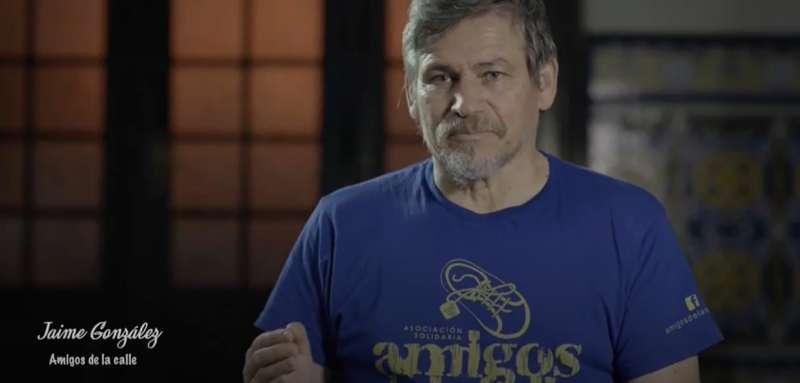 Jaime González en un fotograma del reportaje