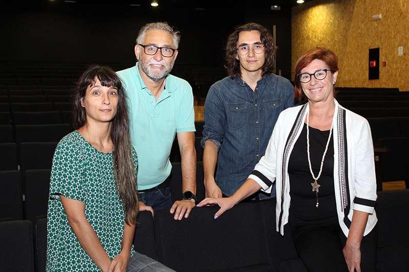 Premiats amb la regidora de Cultura, Asun Moll. EPDA