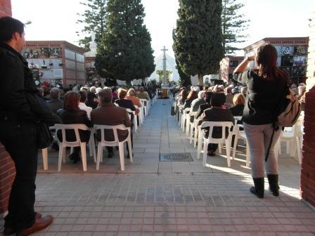Misa en honor a los difuntos Cementerio Alfafar