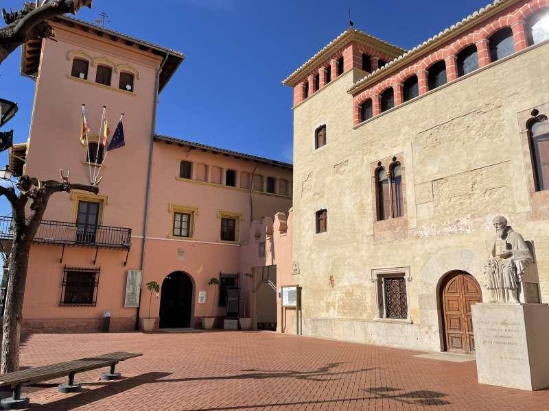 Imagen del Ayuntamiento de la localidad.