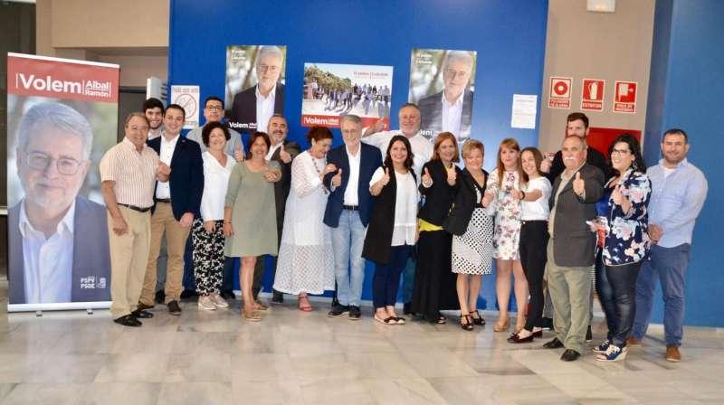 Presentación de candidatura de Ramón Marí