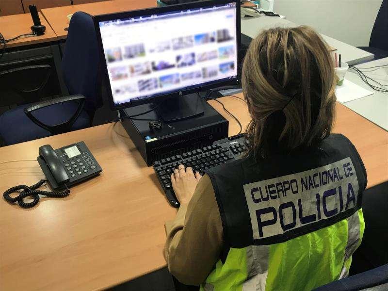 Una agente del Cuerpo Nacional de Policía. EFE/Policía Nacional