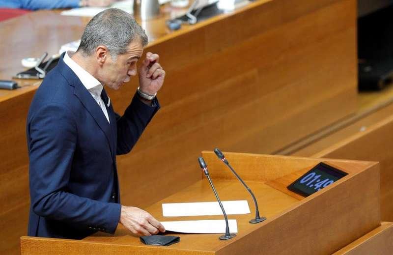 El portavoz del grupo de Ciudadanos, Toni Cantó. EFE