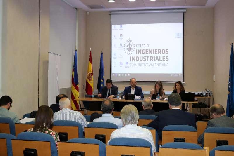 Asamblea del Colegio Oficial de Ingenieros Industriales de la Comunitat Valenciana