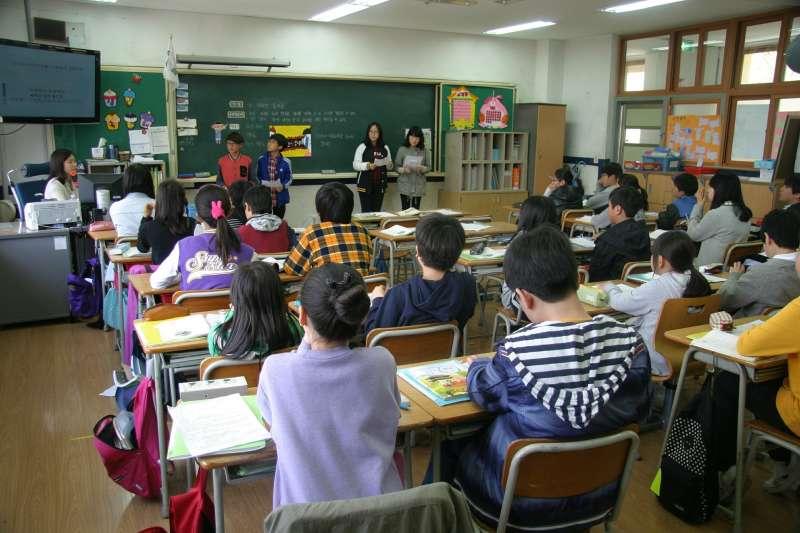 Imagen de una escuela. EPDA