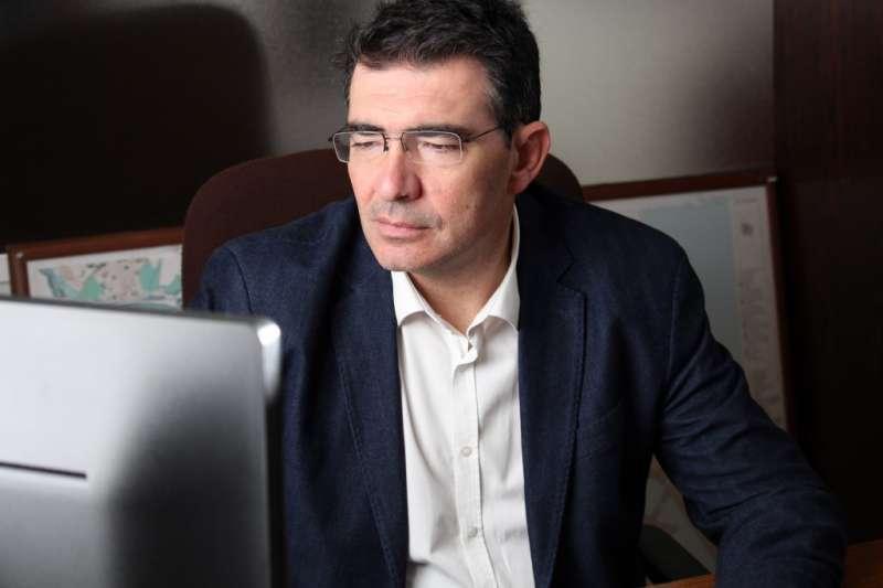 El concejal de Ciudadanos (Cs) en el Ayuntamiento de Valencia, Narciso Estellés. / EPDA