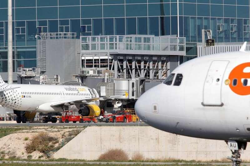 Imagen de las obras realizadas en el aeropuerto.- EFE