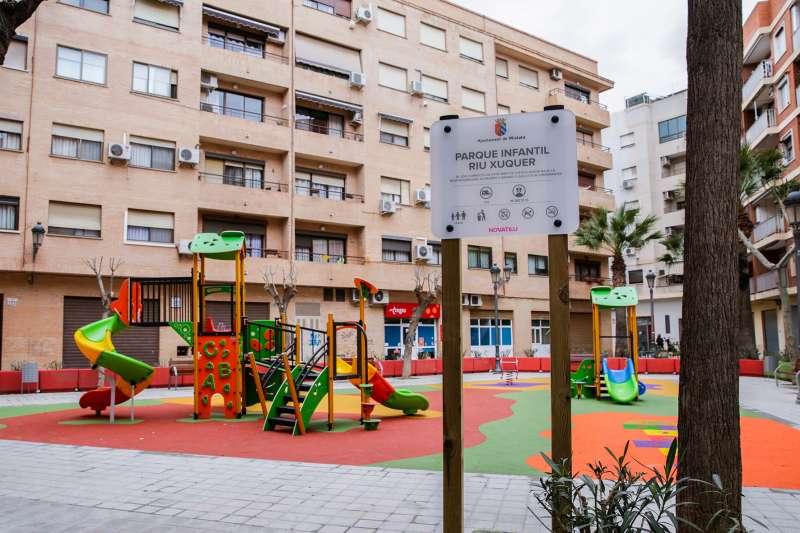 Nuevo parque infantil en Mislata. EPDA