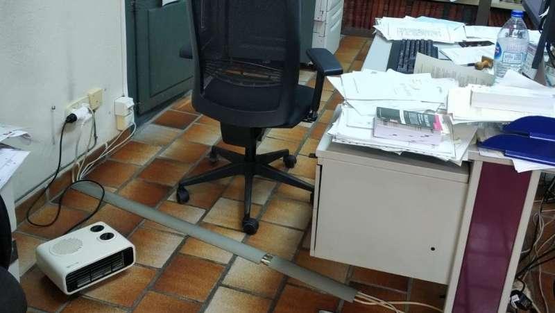 Imagen de los Juzgados de Xàtiva. -EPDA
