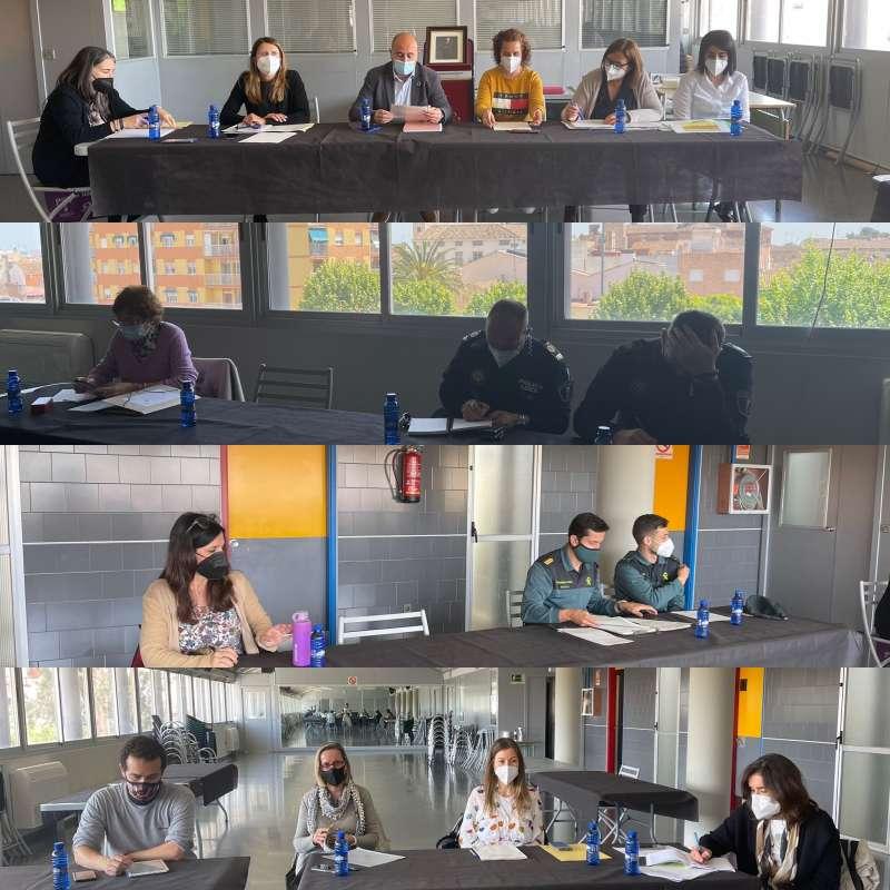 Celebración de la Comisión de Protección de la Infancia y Adolescencia en Situación de Riesgo de Massamagrell.