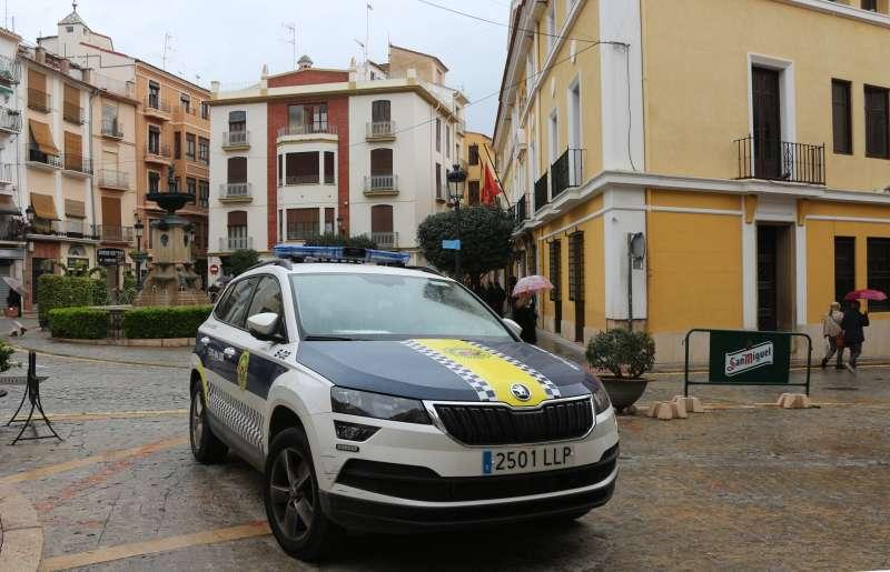 Vehículo de la Policía Local./ Foto: Archivo