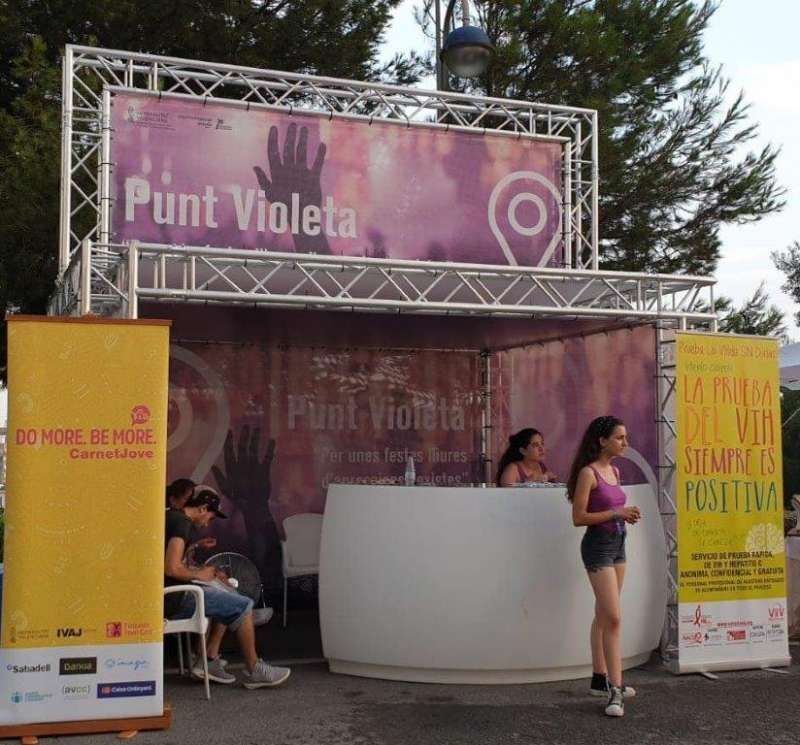 Punst Violeta del Festival. GVA