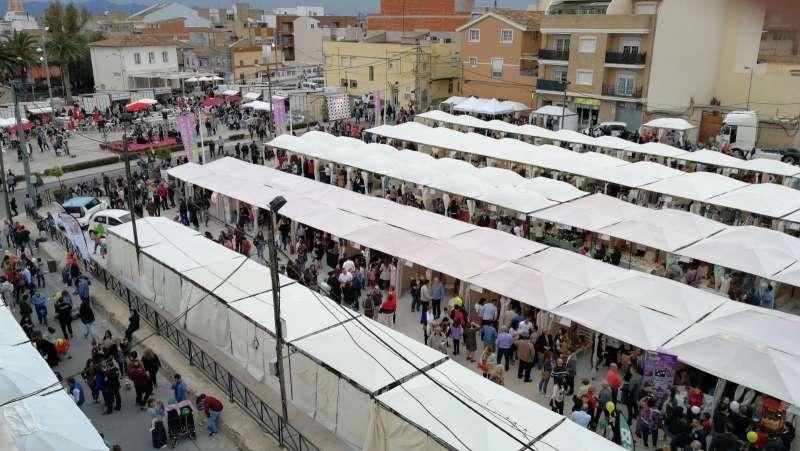 Feria del Comercio de Riba-Roja. / epda