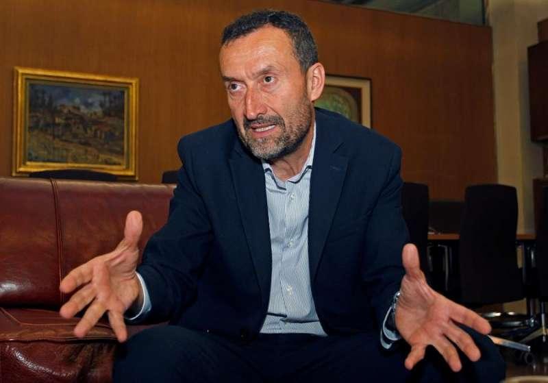 El alcalde de Elche, Carlos González. EFE/MORELL/Archivo