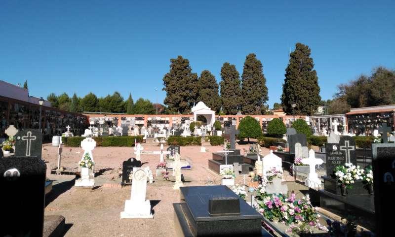El cementerio de Segorbe a punto
