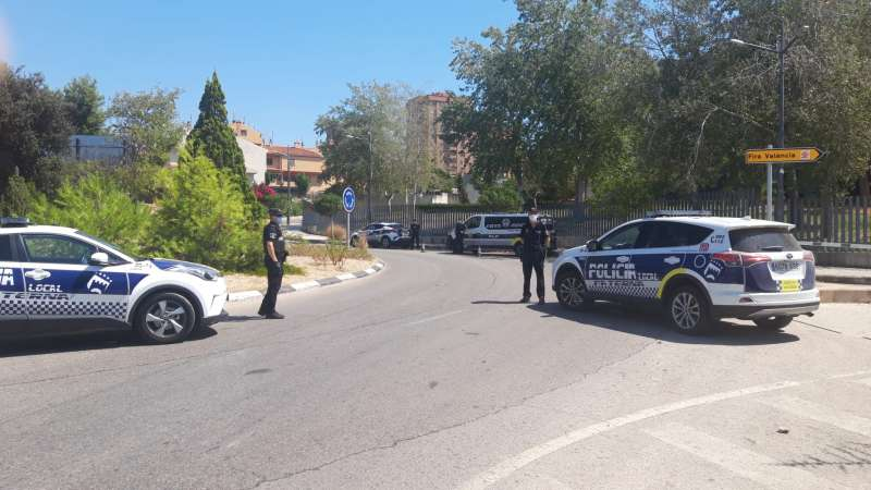 Controles policiales en Paterna. EPDA