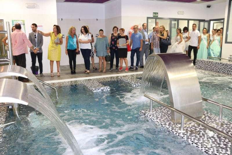 Inauguración del balneario municipal del barrio del Cristo. EPDA