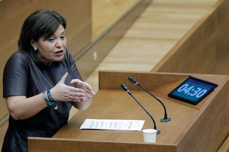 La presidenta del PPCV, Isabel Bonig, en una imagen de archivo. EFE/Kai Försterling/Archivo