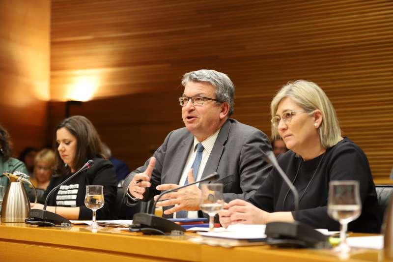Fernando Llopis, en una comisión. EPDA