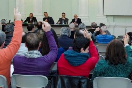 Imagen de archivo de una de las asambleas. FOTO: EPDA