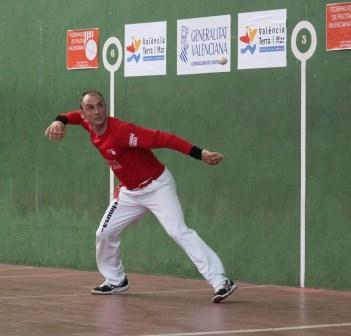 Adrián de Museros, luchando por conseguir la victoria. FOTO: EPDA.