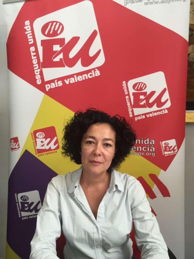 La diputada Raquel Pérez