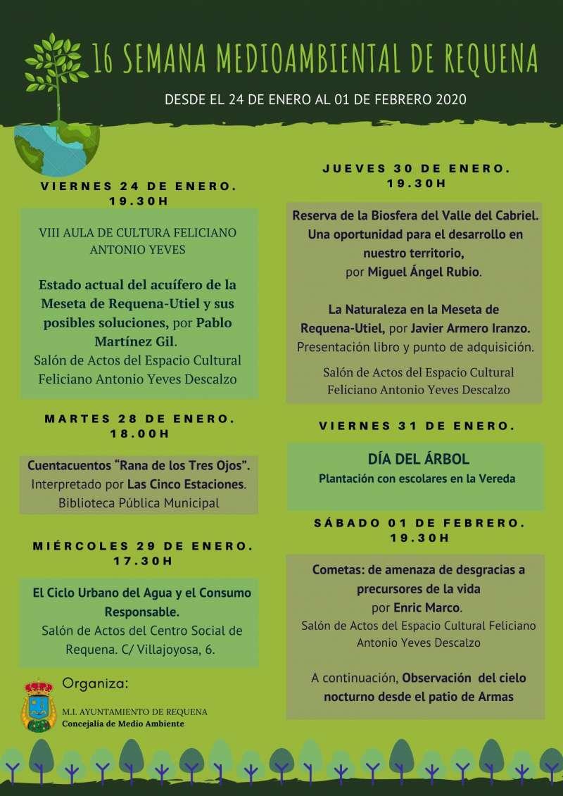 16ª Semana Medioambiental Requena 2020