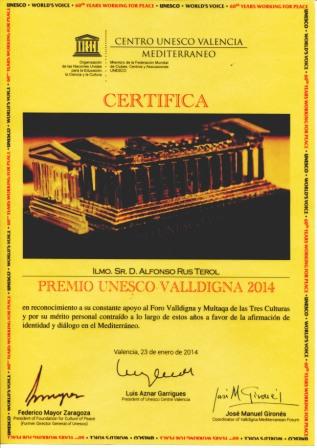 Imagen del certificado. FOTO: DIVAL