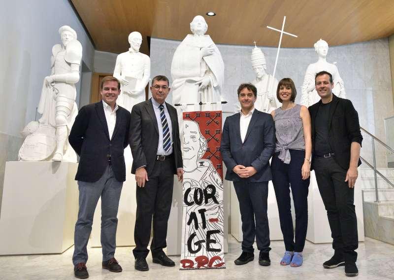Presentació de la desfilada Coratge. EPDA
