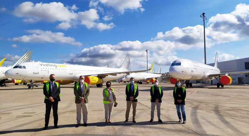 Aerocas con empresarios valencianos