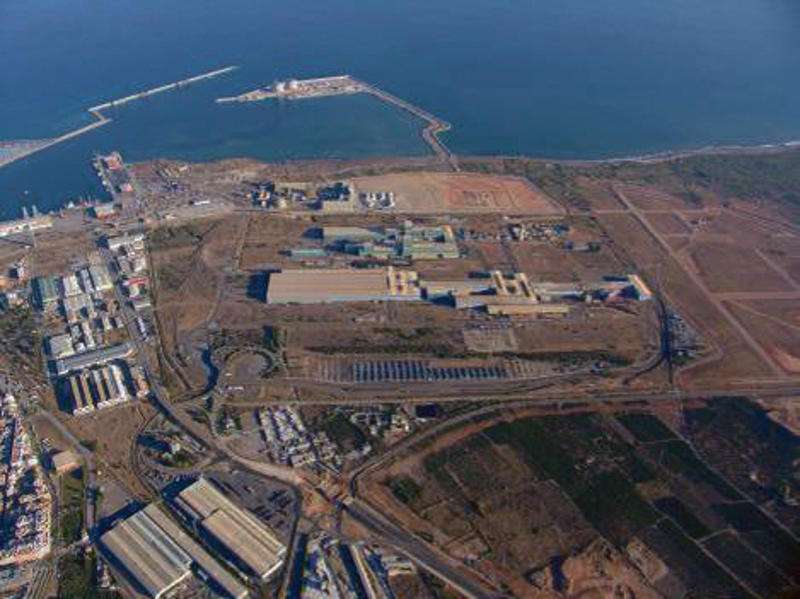 Panorámica de la empresa en Port de Sagunt. EPDA
