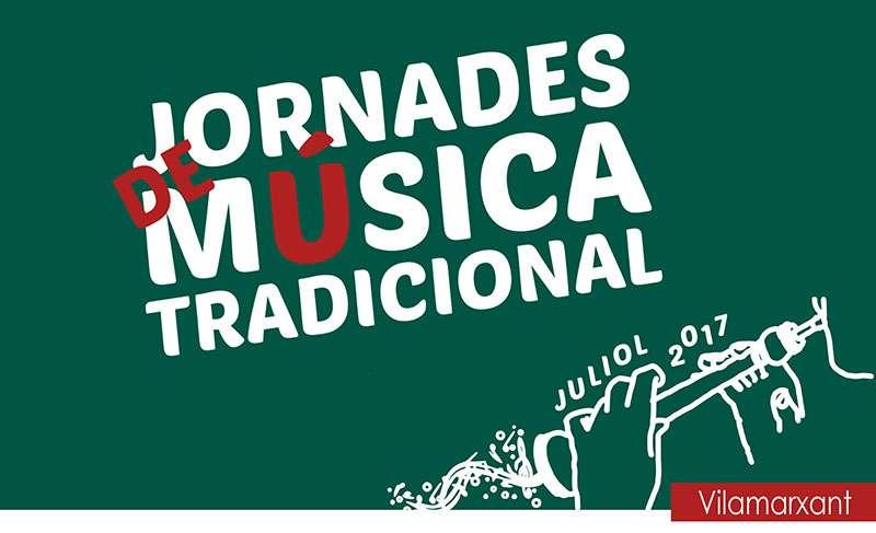 Cartell de les Jornades Música Tradicional. EPDA.