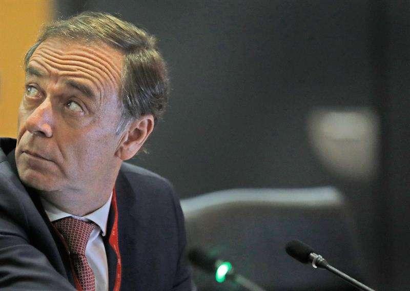 El presidente de la Audiencia Nacional, José Ramón Navarro, imparte la conferencia