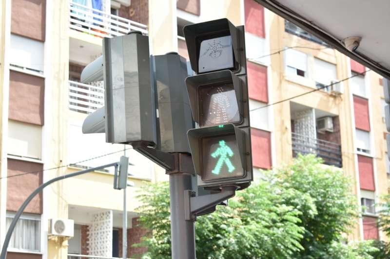 Semáforo en Alfafar